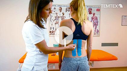 Tejpovanie chrbta